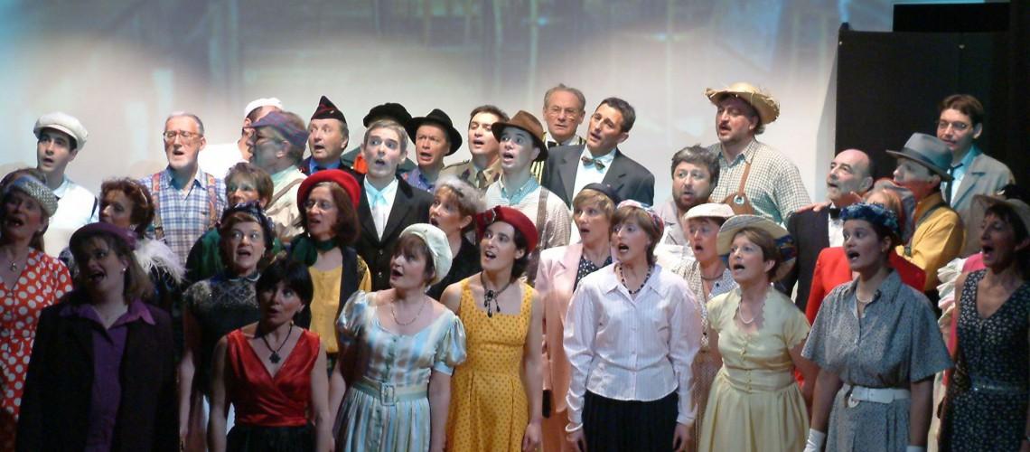 Notre premier spectacle mis en scène en 2003
